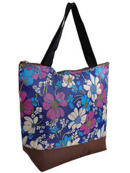 Polyester carry bag shopping bags personalized eco printed tote bag
