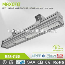 5 Years warranty Cool white led linear high bay for warehouse light