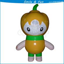 Inflatable mascot costume 1.8m high type baby girl cartoon mascot costume
