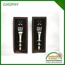 golf hang tag, custom logo hang tag