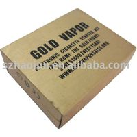 The golden packing box for electronic cigarette