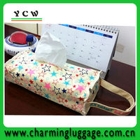 Fabric tissue box cover pattern
