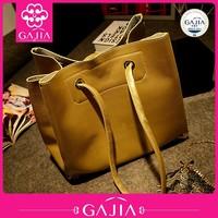 2015 new design high quality women bags PU handbags big size women shoulder bags made in China