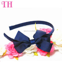 fashion hair bow band toller baby girl large bow knot headband for children hair accessories