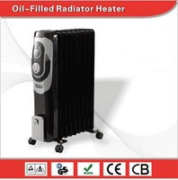 oil filled radiator heater with bule LCD display& remote control