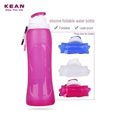 China manufacturer custom mold safety bpa free silicone plastic bottle 500ml for mineral water