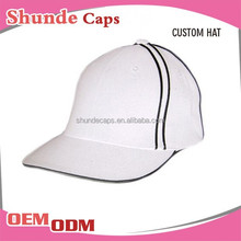 Wholesale 6 Panel Cap Golf Hats Fitted Cap Closed Baseball Cap