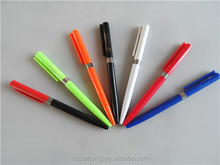 High quality colored stick logo twist cheap ball pen satisfactory service CH-6635