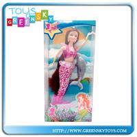 fashion girl toy doll plastic mermaid