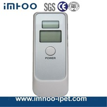 breath alcohol tester with clock