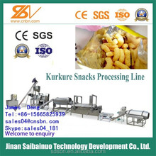 Single screw delicious cheese curls snacks equipment manufacturer