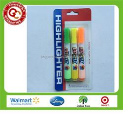 Hot sales classic highlighter pen brilliant color