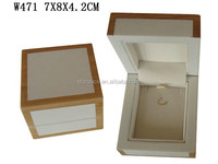 Unique Wooden Earring Pendant Jewelry Box With Hooks Wholesales W471