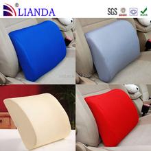Fitness memory foam sofa cushion for lumbar support