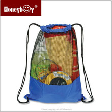 OEM promotion cheap nylon mesh drawstring bag