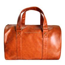 Luggage Duffle bags Unisex leather travel bag