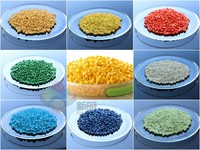 Red color masterbatch for plastic products