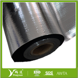 2015 high quality Aluminium blanket VMPET+PE+woven fabric+PE+VMPET