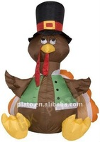 Glowing Thanksgiving Inflatable Turkey Yard decoration