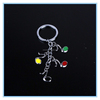 Fashion Jewelry Zinc Alloy Material Metal Key Ring Wholesale Personalised Keyring