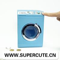 New Innovation Products 2014 The Washing Machine Shape China Wholesale Plastic Childrens Coin Money Saving Box