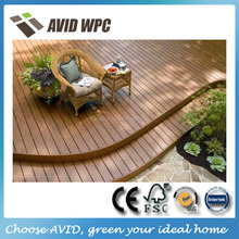 Easy- assembly and waterproof wpc outdoor wood flooring for sale