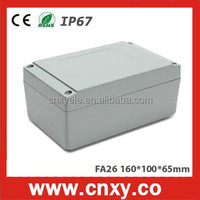 Good quality Anodized aluminum metal electric case FA26 (160*100*65mm)