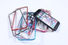 Luxury Diamond Crystal Aluminum Metal Bumper Frame Case for iPhone 4 4S