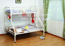 Customized and Hot Sale School Dormitory Full Over Full Bunk Bed