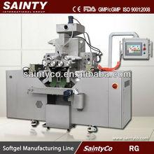 Rg serie Softgel máquina de encapsulación, Softgel máquina de producción, cápsula de gelatina blanda que hace la máquina