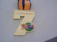 gold award medal , Custom cheap metal sport medal
