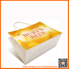 customized paper shopping bag brand name