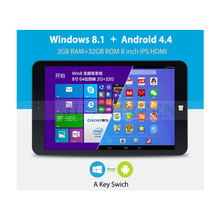 8 Inch Tablet Pc With IPS Screen Quad Core Intel Z3735F Win 8.1 OS And Android 4.4 OS