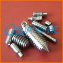 Specializing in the production hexagon set screw
