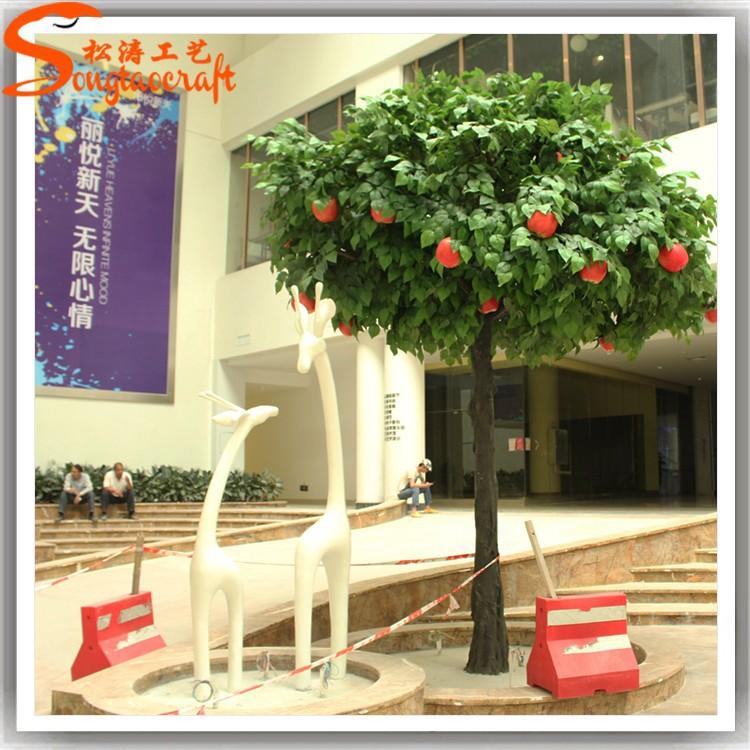 d coration int rieure faux pommier grand pommes pour vente en plastique de la maison de fruits. Black Bedroom Furniture Sets. Home Design Ideas