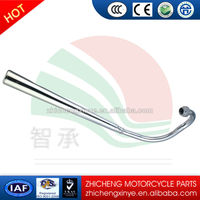 galvanized muffler for motorcycle exhaust system gn125