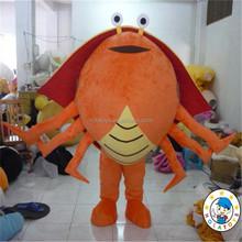 crab costume/crab adult costume for activity