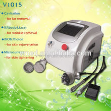 2015 Safe and Effective Photon Microcurrent Treatment RF Cavitation Body Slim Machine