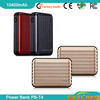 fast charging power bank 20000mah for laptop emergency battery charger/dual usb power bank 10400mah battery power bank