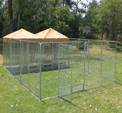 cheap iron fence dog kennel galvanized steel dog kennels