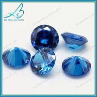57 perfect cutting facets 1.25mm aquamarine wholesale cubic zirconia stone