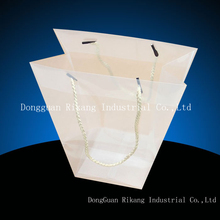 design for recycling clear plastic tote bags