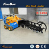 Perfectly landscape loaders,mini garden tracktor backhoe loader ride on trencher