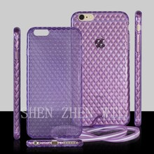 2015 new model case for iphone6 soft tpu cover