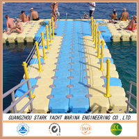2015 hot sale Inflatable plastic floating buoy/ pontoons