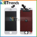 de alta calidad para el iphone blanco 5 lcd de pantalla para el iphone 5 completa lcd en la acción