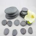 Atacado polido basalto preto pedra massagem/spa hot stone massagem stone/massagem de pedra basalto