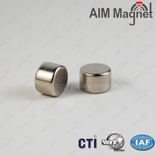 N45 D8 x 5mm Nicuni Coating Cheap Magnet for Holding