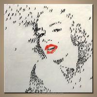 Popular Handmade Marilyn Monroe Pop Art Paintings