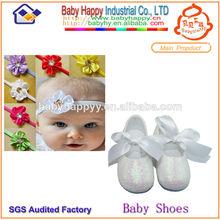 suela suave zapatos de bebé de la pu